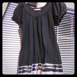 American Rag Charcoal gray midi dress